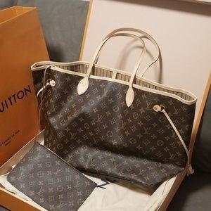 Louis Vuitton Neverfull GM tote monogram